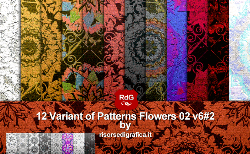 Pattern Flowers 02 variant n6#1