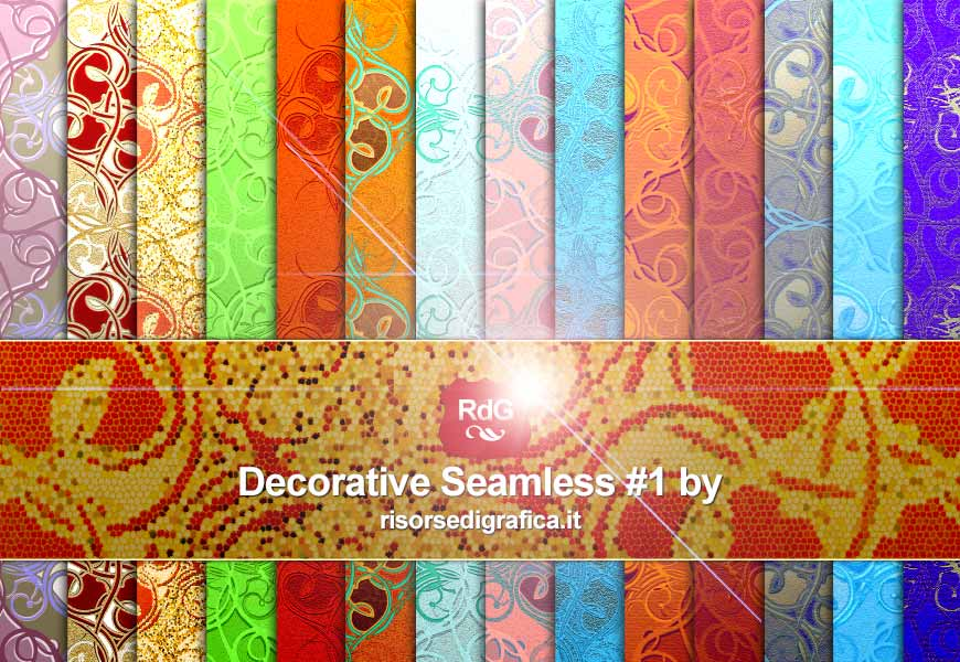 decorative seamless #1, pattern for photoshop