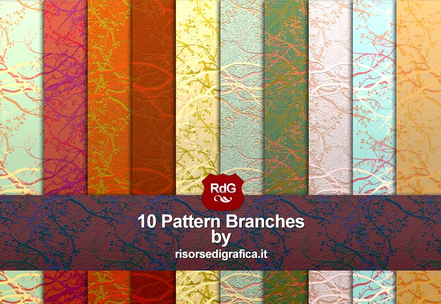 pattern for photoshop - 10 pattern bruches