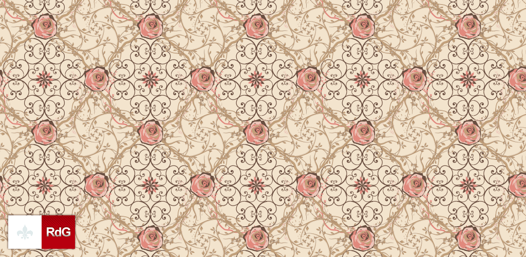 pattern for photoshop rose 01